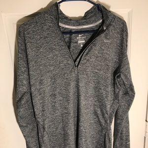 Nike Dryfit long sleeve quarter zip